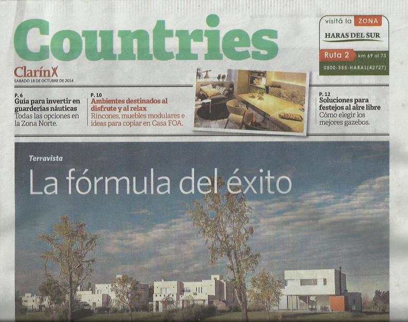 Clarin Country 18-10-2014 – 01