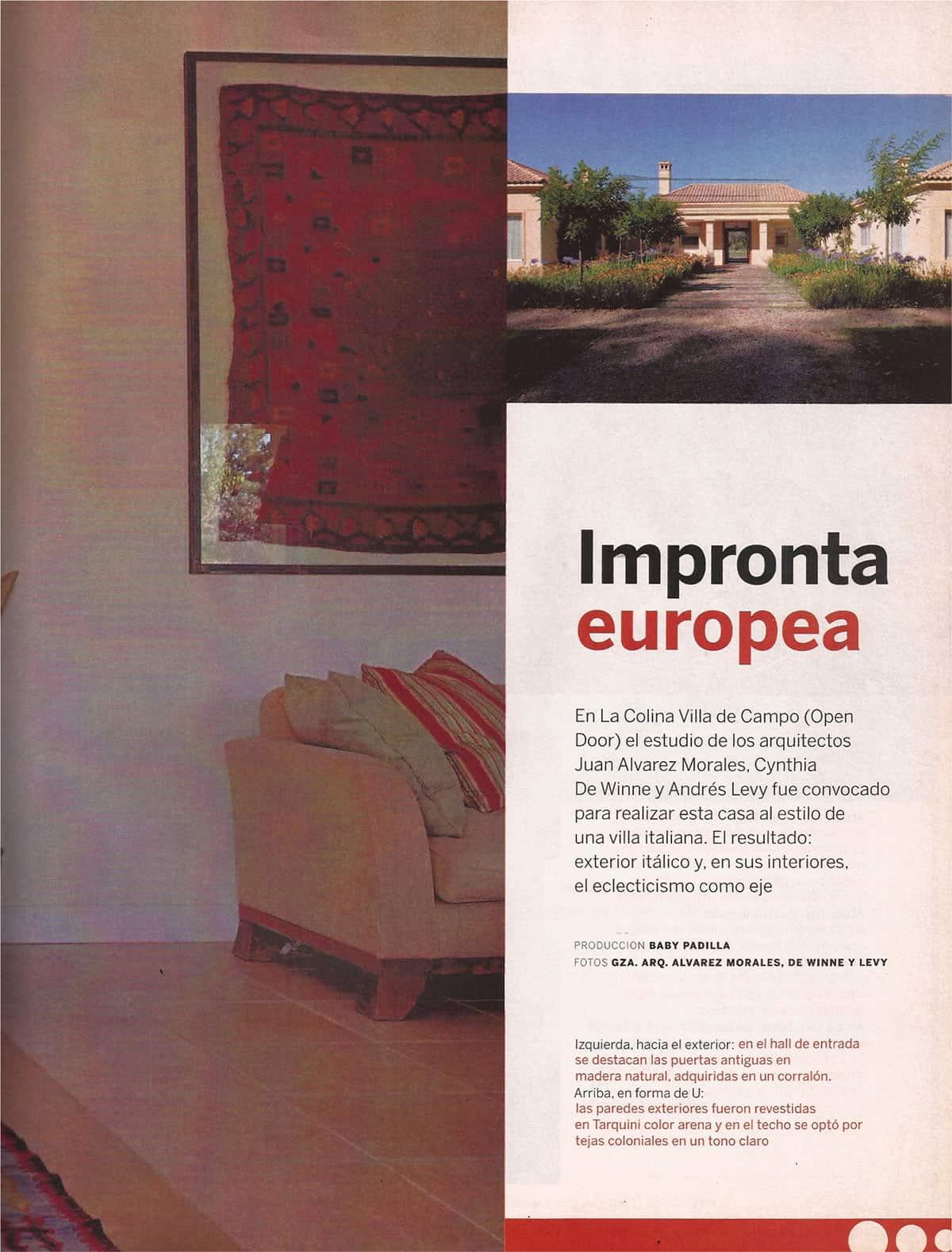 La Nacion Revista 01-2008 – 03